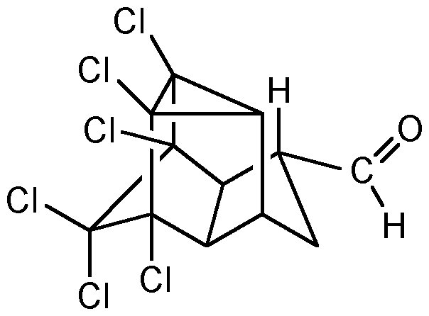 Chemical Structure for Endrin aldehyde