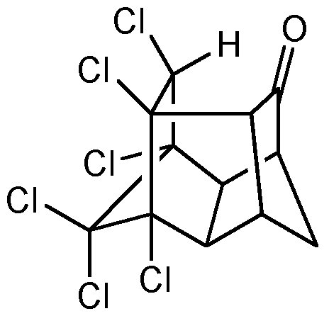 Chemical Structure for Endrin ketone