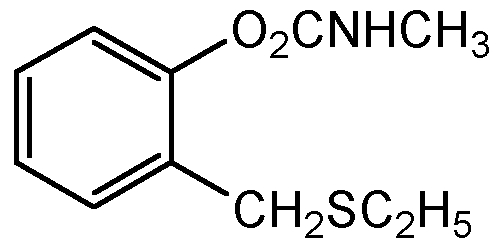 Chemical Structure for Ethiofencarb