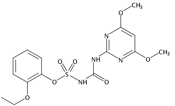 Chemical Structure for Ethoxysulfuron