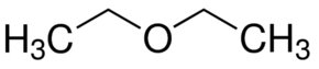 Chemical Structure for Ethyl ether