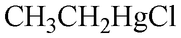 Chemical Structure for Ethylmercuric chloride(Technical)