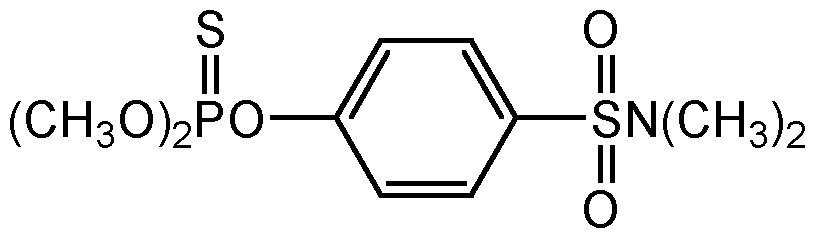 Chemical Structure for Famphur