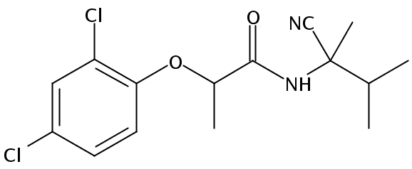 Chemical Structure for Fenoxanil