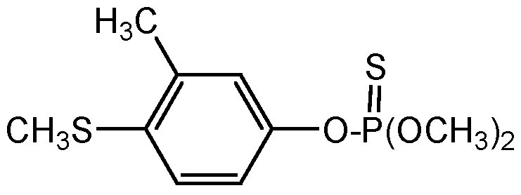 Chemical Structure for Fenthion