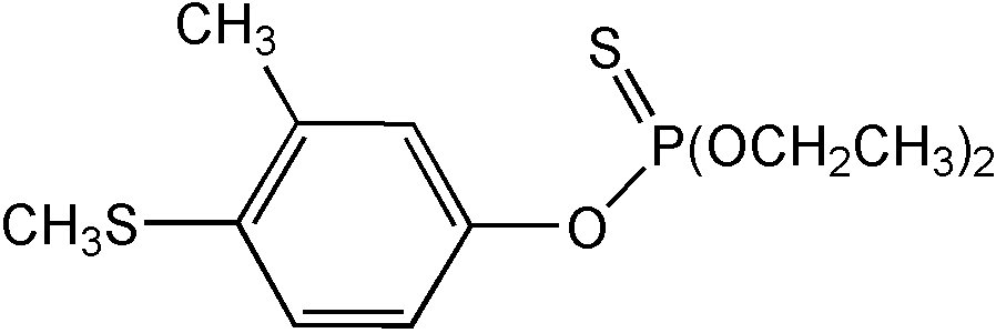 Chemical Structure for Fenthion-ethyl