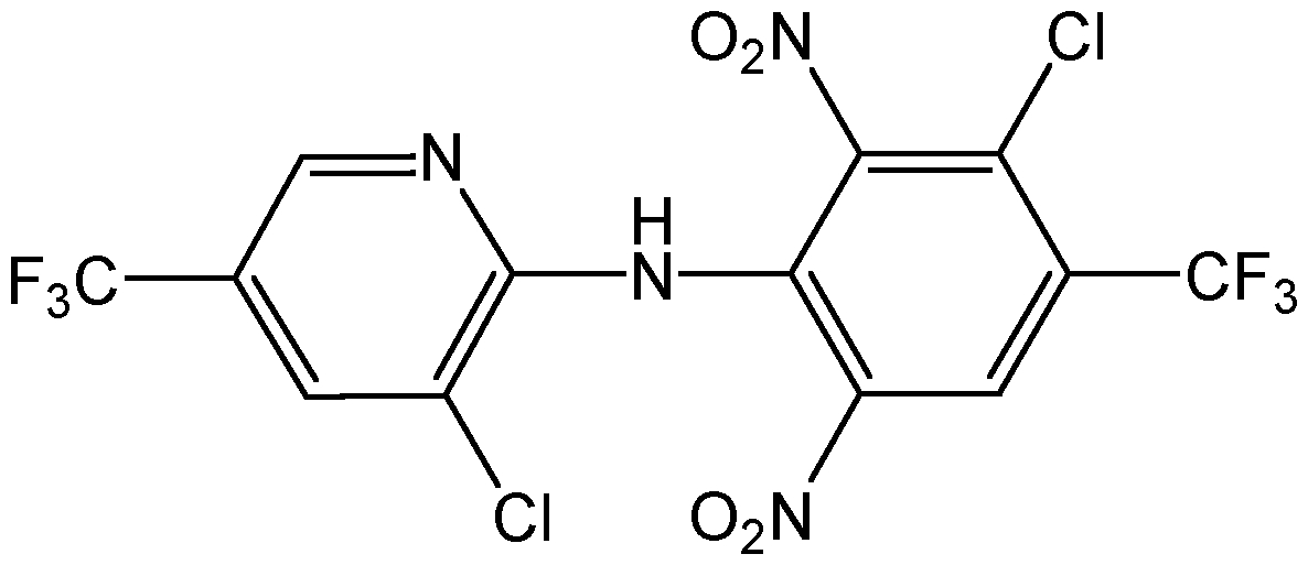 Chemical Structure for Fluazinam