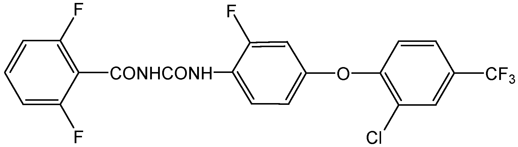 Chemical Structure for Flufenoxuron