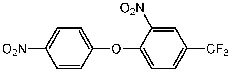 Chemical Structure for Fluorodifen