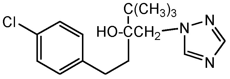 Chemical Structure for Tebuconazole