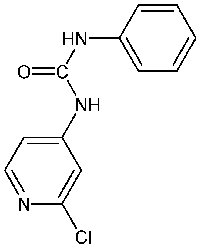 Chemical Structure for Forchlorfenuron