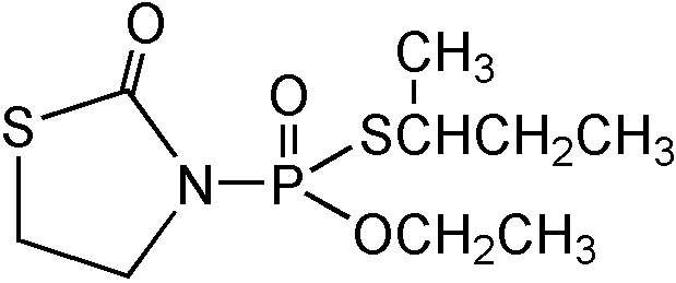 Chemical Structure for Fosthiazate