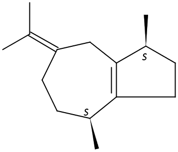 Chemical Structure for Guaiene(Technical)