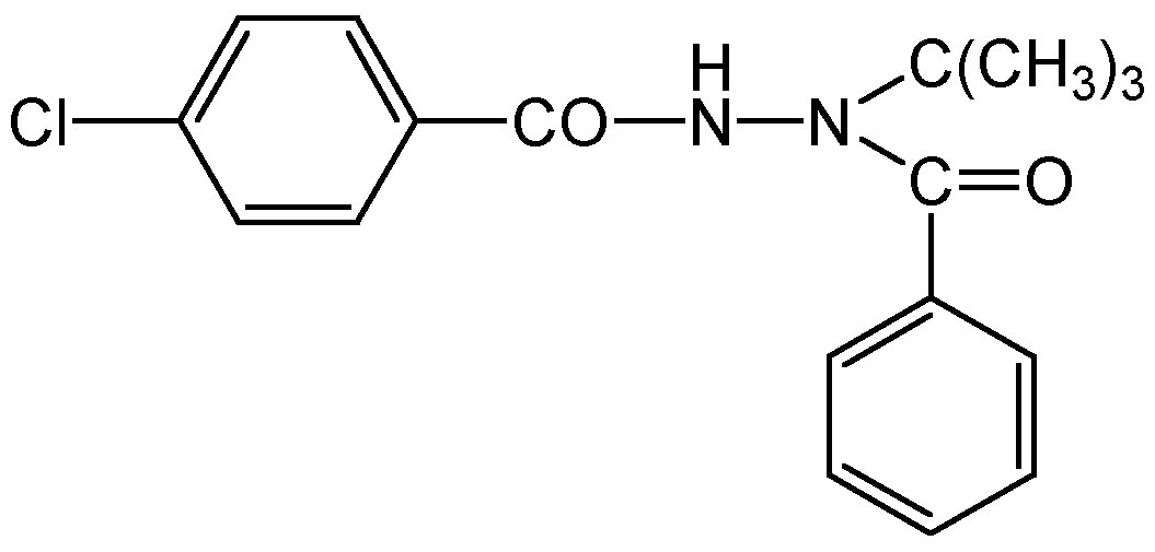 Chemical Structure for Halofenozide