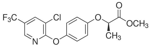 Chemical Structure for Haloxyfop-P methyl