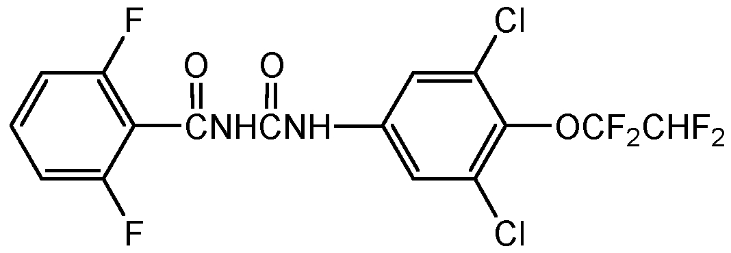 Chemical Structure for Hexaflumuron