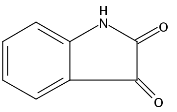 Chemical Structure for Isatin