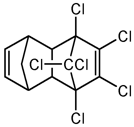 Chemical Structure for Isodrin