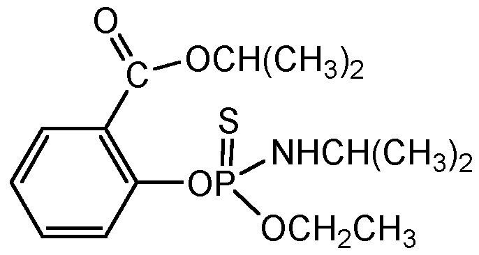 Chemical Structure for Isofenphos