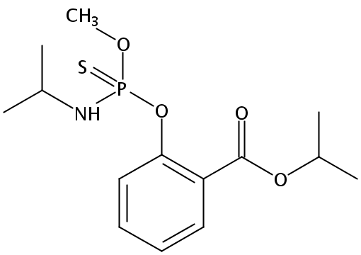 Chemical Structure for Isofenphos-Methyl