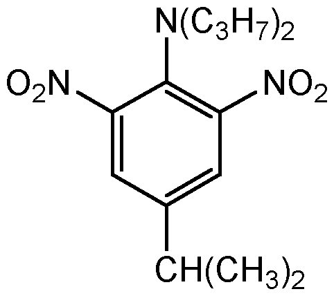 Chemical Structure for Isopropalin