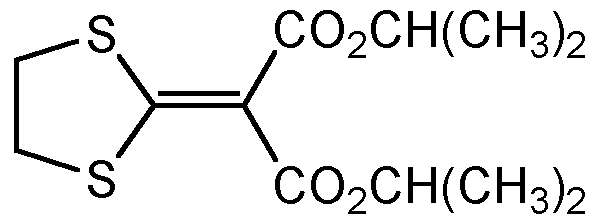 Chemical Structure for Isoprothiolane