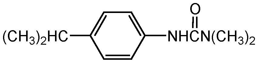 Chemical Structure for Isoproturon