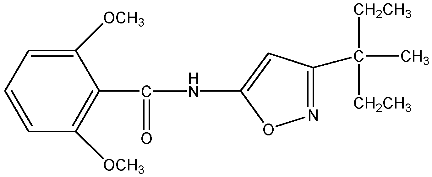 Chemical Structure for Isoxaben