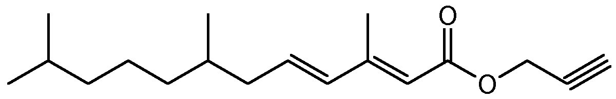 Chemical Structure for Kinoprene