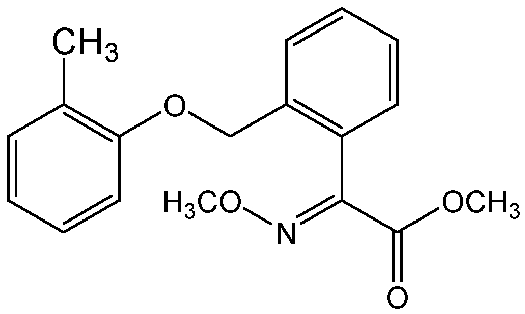 Chemical Structure for Kresoxim-methyl