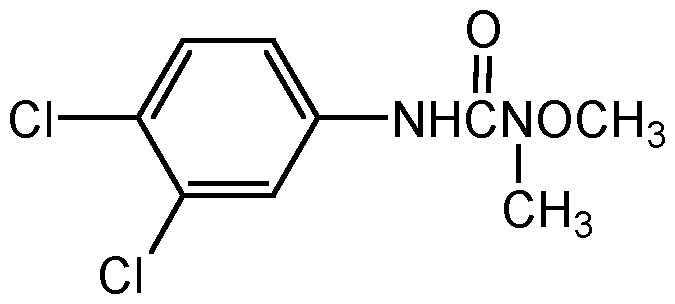 Chemical Structure for Linuron