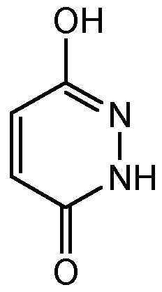 Chemical Structure for Maleic hydrazide
