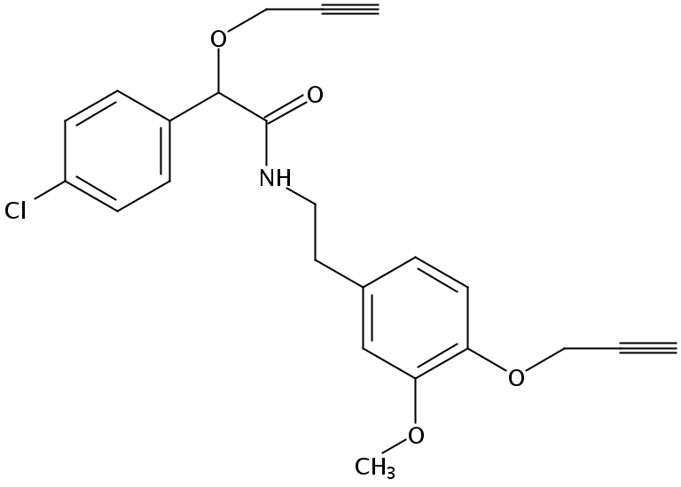 Chemical Structure for Mandipropamid