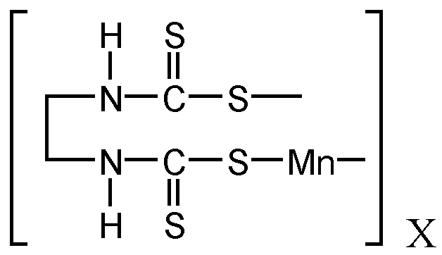 Chemical Structure for Maneb(Technical)