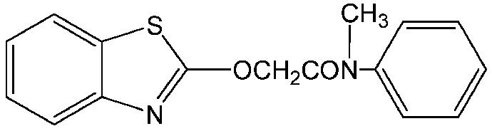 Chemical Structure for Mefenacet