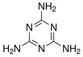 Chemical Structure for Melamine