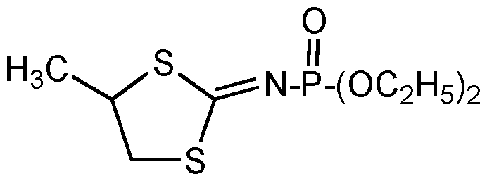 Chemical Structure for Mephosfolan