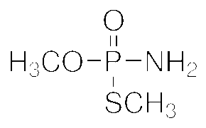 Chemical Structure for Methamidophos