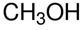 Chemical Structure for Methanol