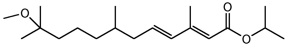 Chemical Structure for Methoprene