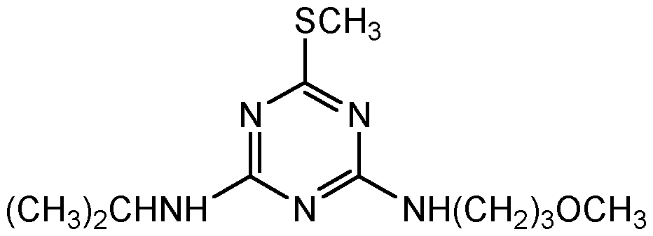 Chemical Structure for Methoprotryne