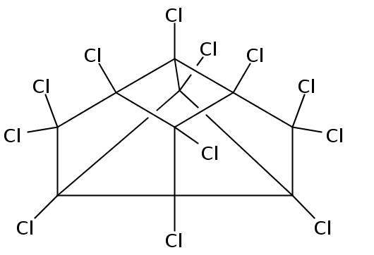 Chemical Structure for Mirex