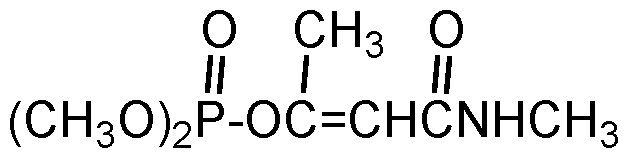 Chemical Structure for Monocrotophos