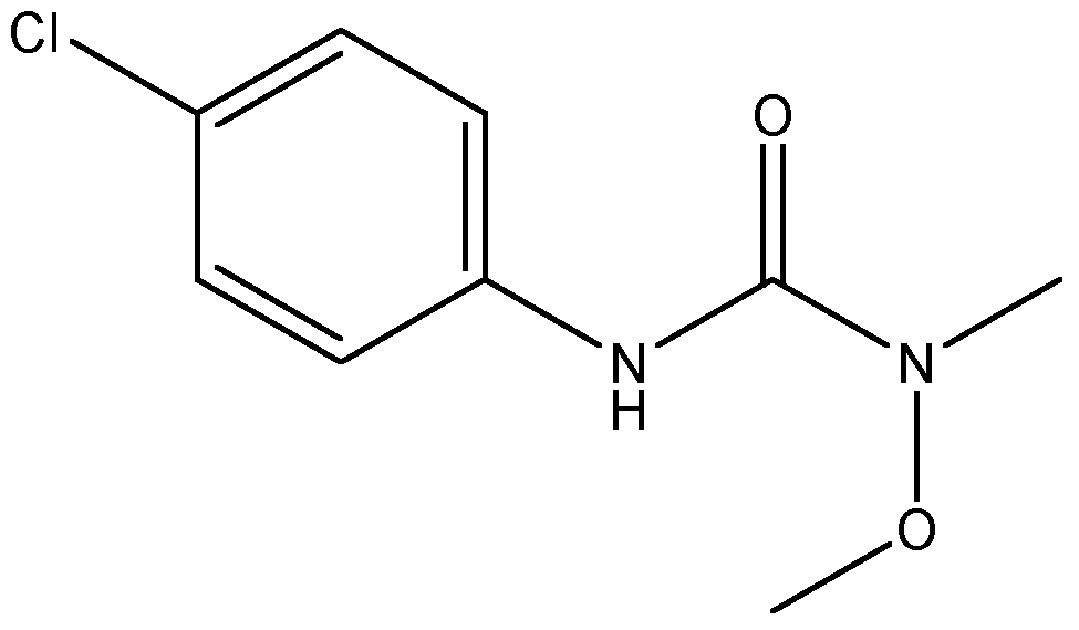 Chemical Structure for Monolinuron