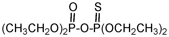 Chemical Structure for Monothiono TEPP