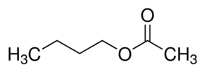 Chemical Structure for n-Butyl acetate
