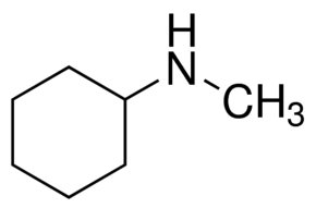 Chemical Structure for N-Methylcyclohexylamine