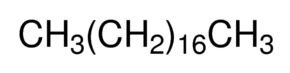 Chemical Structure for n-Octadecane