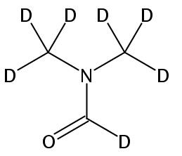 Chemical Structure for N,N-Dimethylformamide-d7