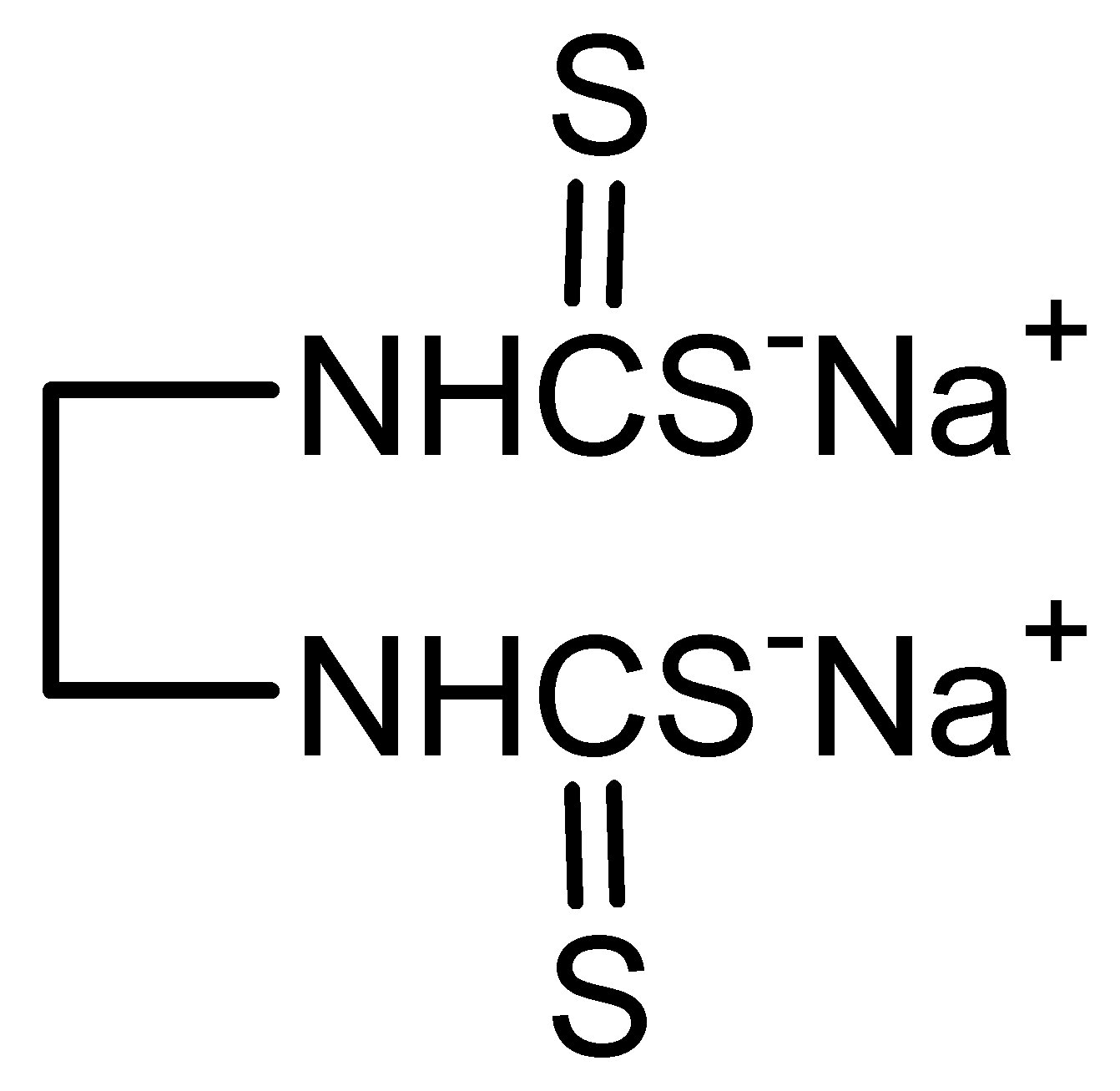 Chemical Structure for Nabam